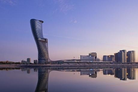 Hyatt opens world's furthest leaning hotel in Abu Dhabi