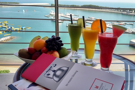 Millennium Resort Mussanah cuts plastic waste by switching to paper straws