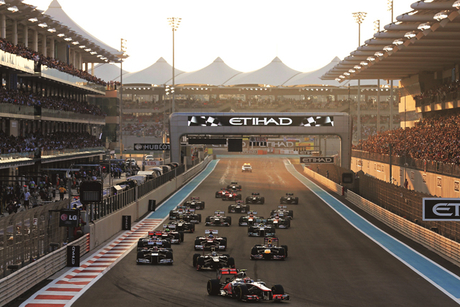 Take part in a free simulator challenge at this Abu Dhabi hotel to win the ultimate F1 weekend!