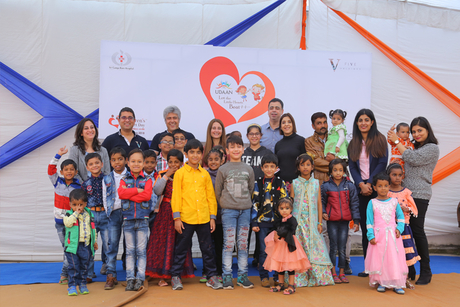 Dubai's Five Palm Jumeirah funds 200 critical heart operations for India's underprivileged children