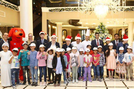 Dukes Dubai hosts children from Emirates Red Crescent