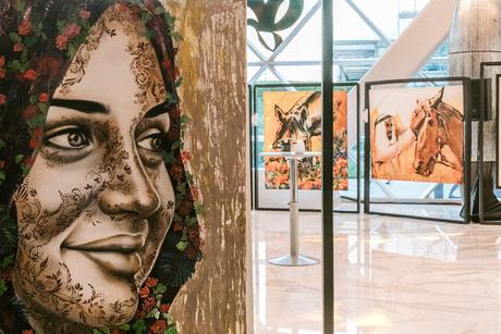 Art comes to the Andaz Capital Gate Abu Dhabi