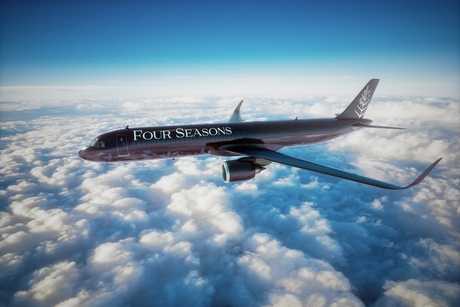 Flying high: Four Seasons Hotels & Resorts launches new custom private jet
