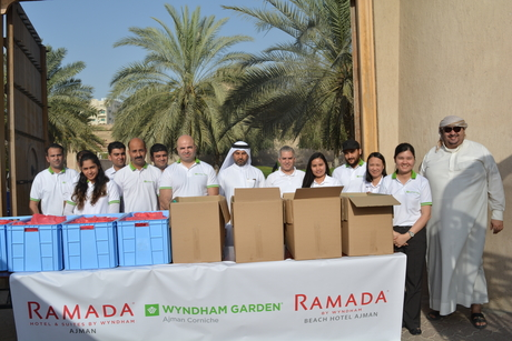 Wyndham Hotels in Ajman distributes free iftars for two days