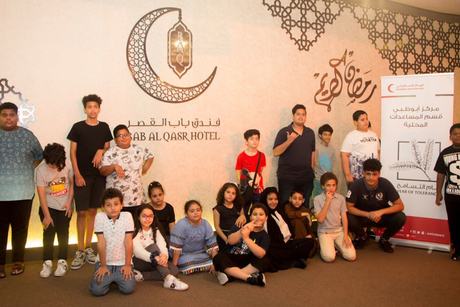 Abu Dhabi's Bab Al Qasr Hotel & Residences hosts iftar for orphans