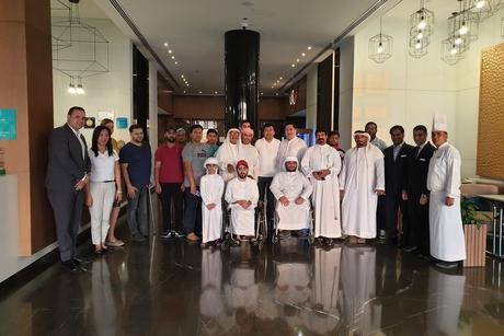 Wyndham Garden Ajman Corniche hosts iftar for people of determination