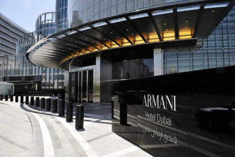 Armani Hotel Dubai offers up to 20% discount on rooms