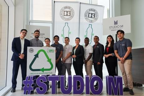 Studio M Arabian Plaza partners with DGrade on recycling initiative