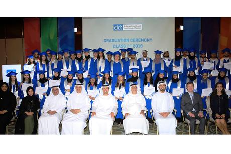 Dubai College of Tourism honours graduating  class