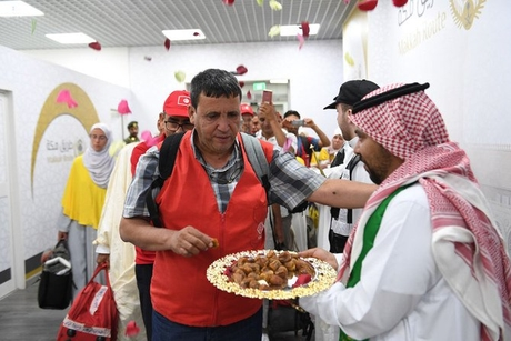 First group of Tunisian pilgrims arrive via Makkah Route initiative
