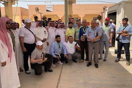 Russian pilgrims arrive in Saudi Arabia