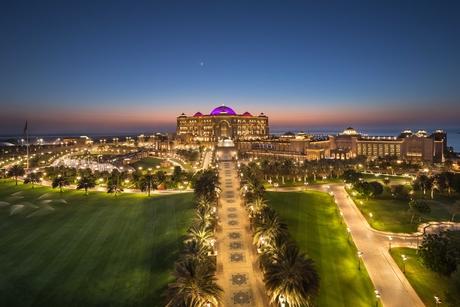 Summer discounts at Emirates Palace, Abu Dhabi