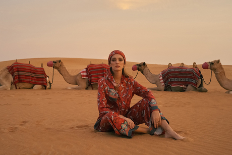 Marriott's The Luxury Collection teams up with New York-based fashion consultant for Emirati-inspired line