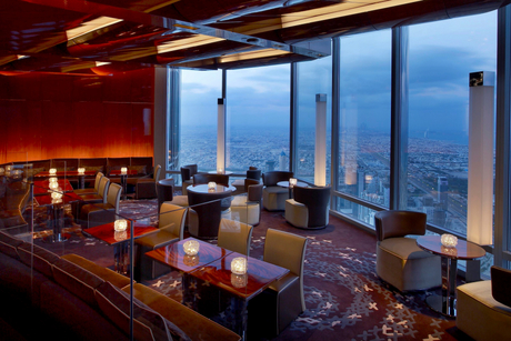 Dubai ladies night to launch 122 floors up in the sky