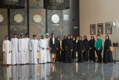Dubai College of Tourism's Emirati students train at TRYP by Wyndham