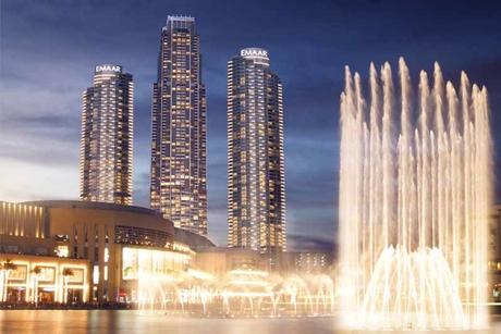 Address Fountain Views all set to open for business