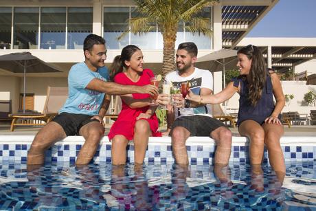 Hilton Garden Inn launches BBQ pool party