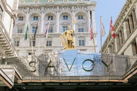 """Security guard at The Savoy Hotel, London beats up man, hotel """"appalled"""""""