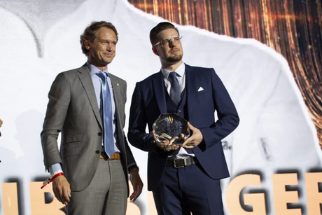 Dubai-based Gregoire Berger wins social media prize at The Best Chef Awards