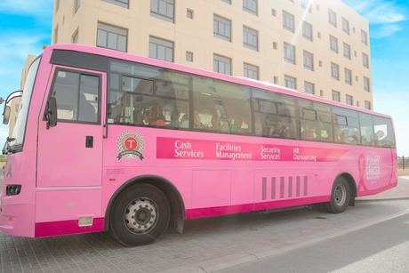 Transguard Group goes pink for October
