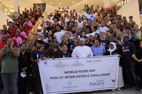 Muscat's hotels donate 240 food boxes to mark world food day