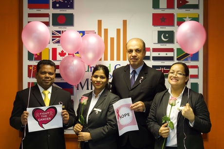 Millennium Airport Hotel Dubai launches 'Think Pink, Wear Pink' campaign