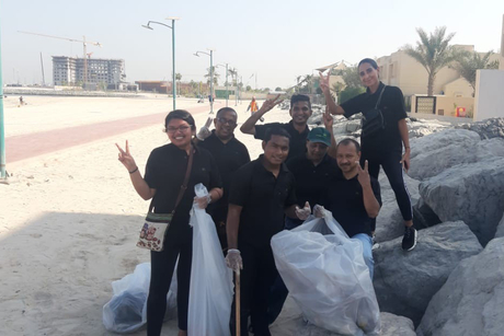 Two Seasons Hotel Dubai conducts beach cleanup campaign