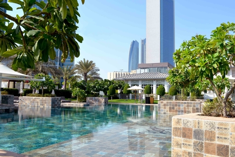 The St. Regis Abu Dhabi renovates pool at the Nation Riviera Beach Club