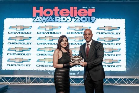 Taj Dubai sales person hits her target at Hotelier Awards