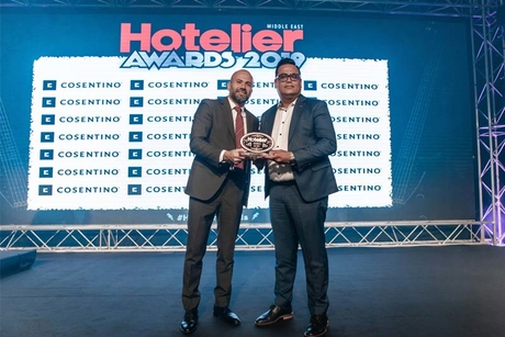Jumeirah International employee walks away with Procurement Person of the Year title at the Hotelier Awards