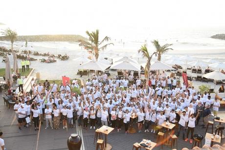 More than 1,100 Marriott associates, members 'walk the city' for Al Jalila foundation