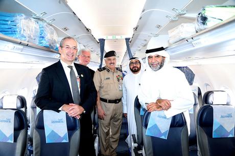 Kuwait's Jazeera Airways takes off on inaugural London flight