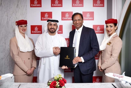 SpiceJet signs first-ever codeshare with Emirates