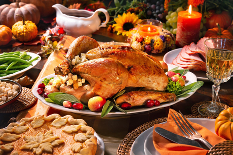 Thanksgiving dinner at Bab Al Qasr Hotel & Residences