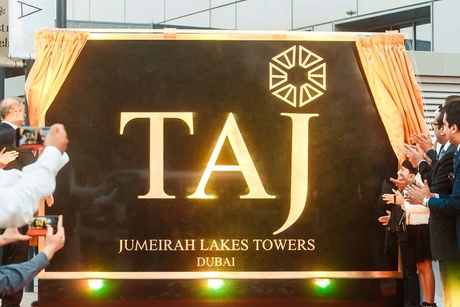 Taj Jumeirah Lakes Towers opens for business