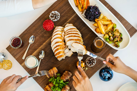Here's how you can win a Christmas day brunch or NYE package for four!