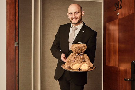 London Marriott Hotel Park Lane introduces in-room teddy bear menu