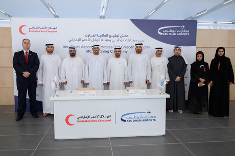 Abu Dhabi Airports pledges to support humanitarian projects
