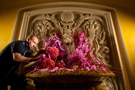 Day in the Life: Floral artist, Fairmont Dubai