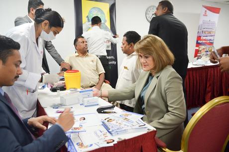 Al Bustan Centre & Residence sets up medical camp for staff