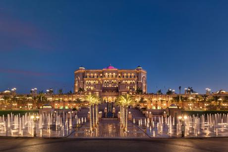Photos: The Emirates Palace hotel in Abu Dhabi