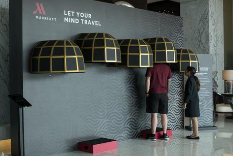 Marriott Hotel Al Forsan, Abu Dhabi unveils sensory pods