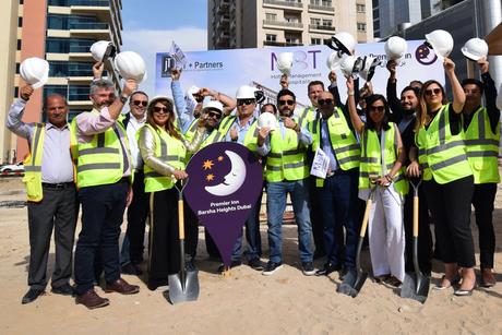 Building work starts on Premier Inn Barsha Heights
