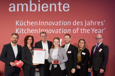 Hansgrohe wins kitchen innovation of the year award