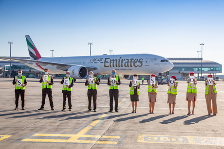 Photos: Emirates Airline crew wave goodbye to final flights