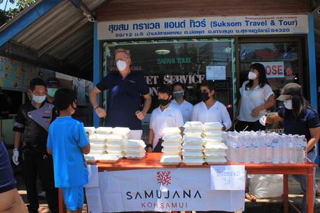 Samujana gives back to Koh Samui community