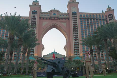 Atlantis, The Palm hosts the Ramadan cannon