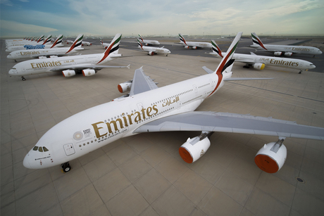 Emirates readying its fleet for reactivation