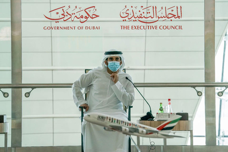 Dubai Executive Council hold meeting at Dubai Airport