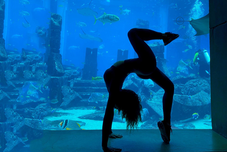 Atlantis, The Palm introduces underwater stretching programme